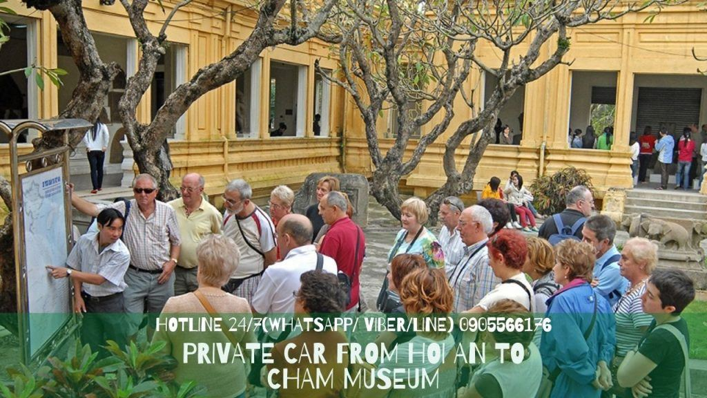 Private Car From Hoi An To Cham Museum