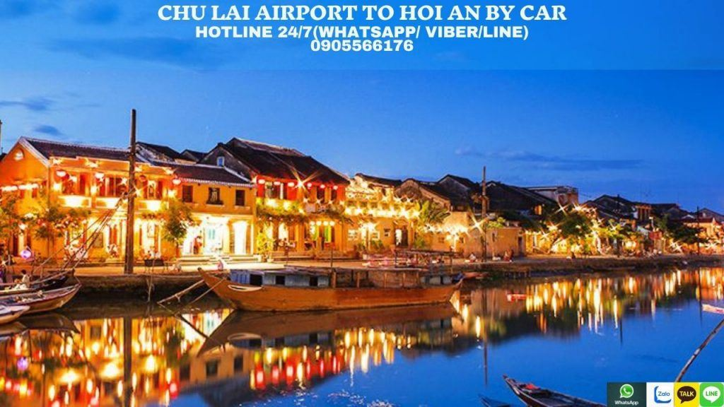 Private Car From Chu Lai Airport To Hoi An